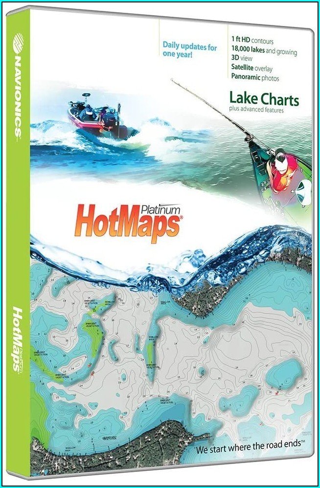 Navionics Hotmaps Platinum Lake Maps North