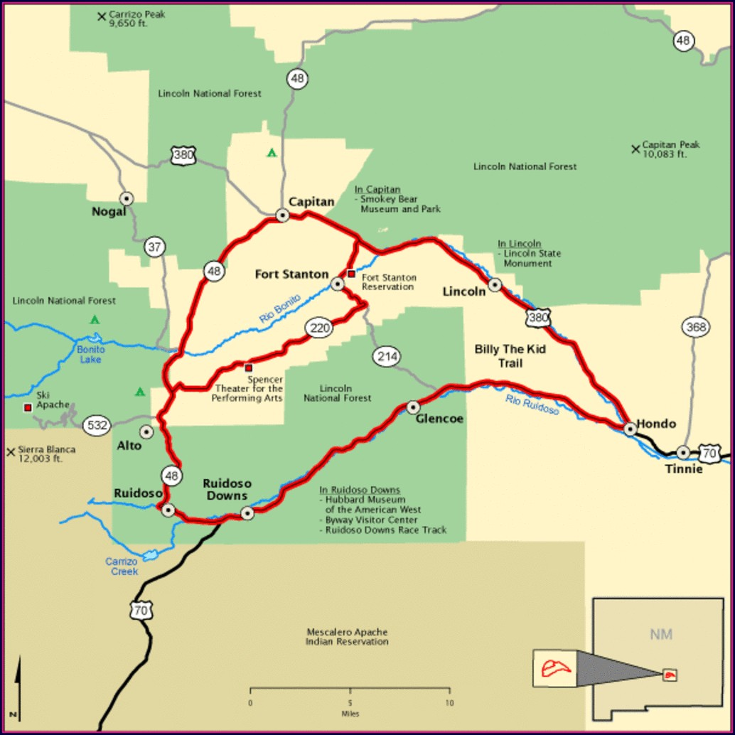 New Mexico Blm Camping Map