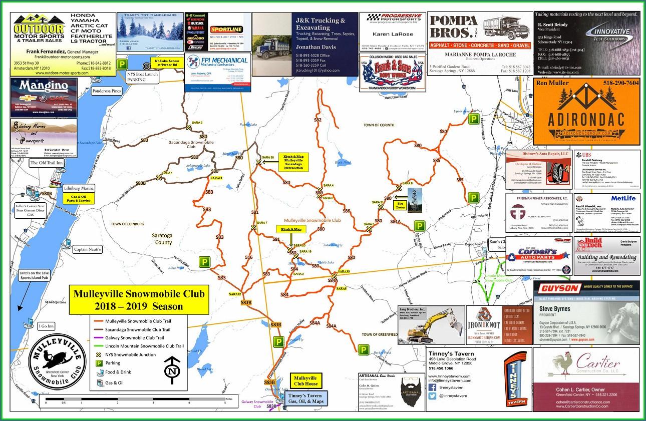 New York Snowmobile Gps Trail Maps