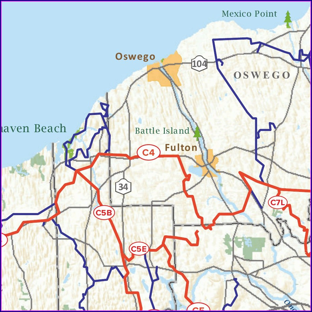New York State Snowmobile Trail Map