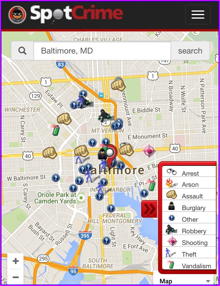 North Las Vegas Crime Map