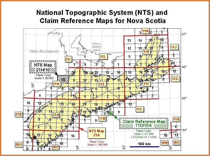Nova Scotia Land Registry Maps
