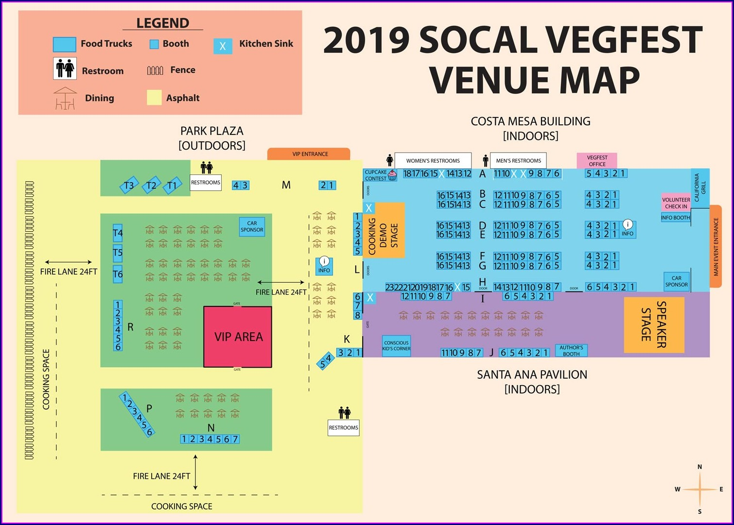 Oc Fairgrounds Map 2019
