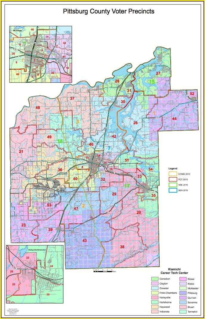 Oklahoma County Voting Precinct Map