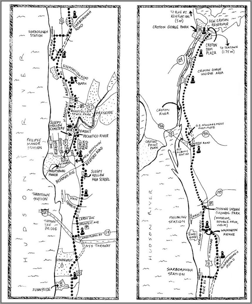 Old Croton Aqueduct Trail Map Nyc
