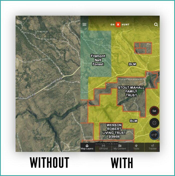 Onx Hunt Map Legend