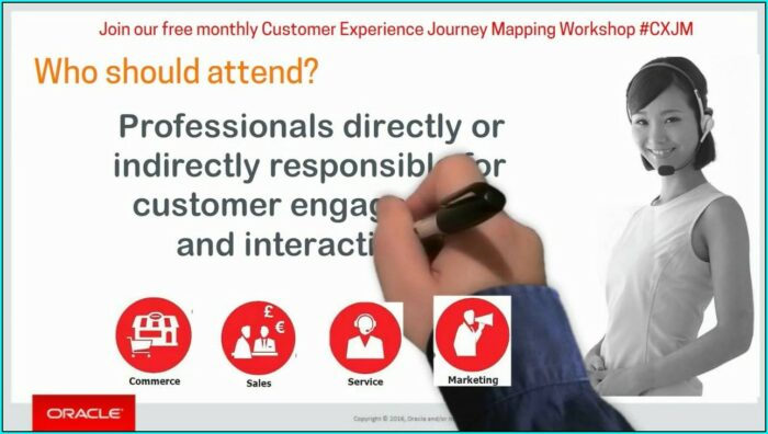 Oracle Customer Journey Mapping Workshop