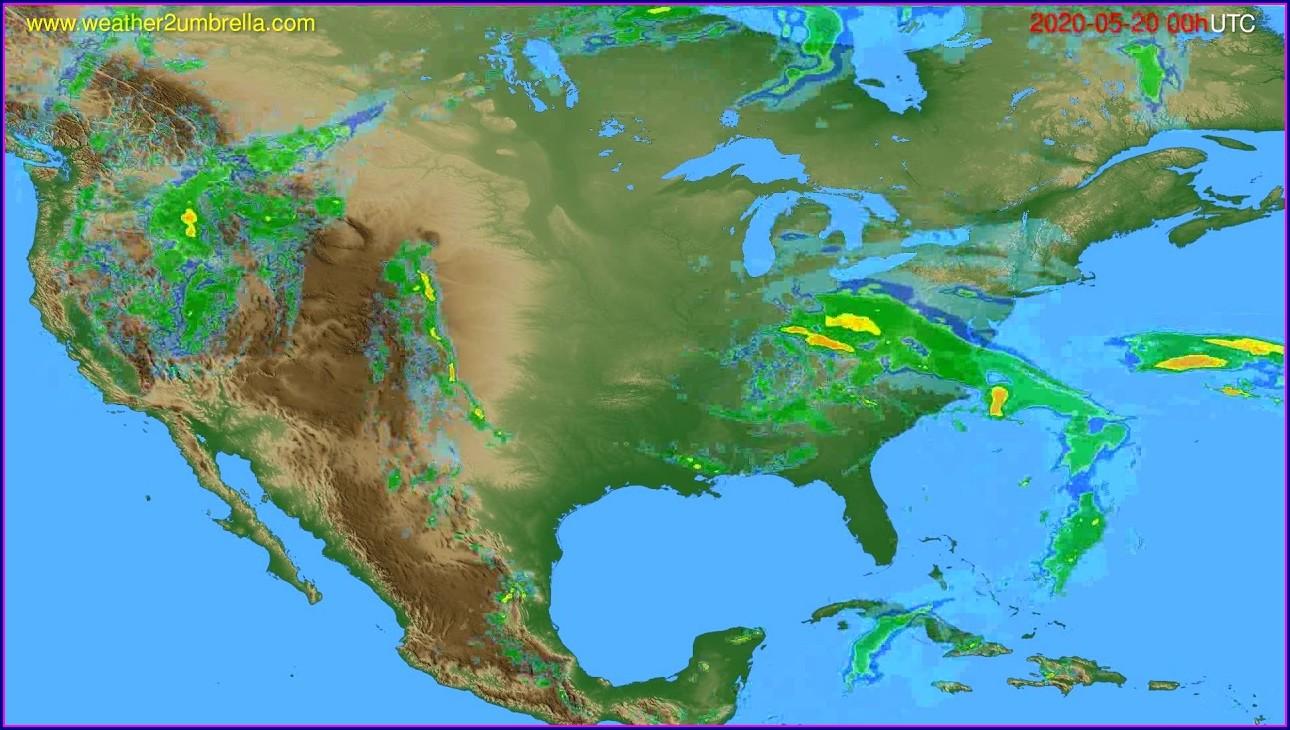Oregon Weather Forecast Map