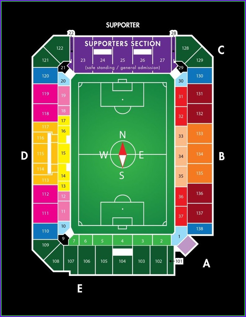 Orlando City Stadium Parking Map