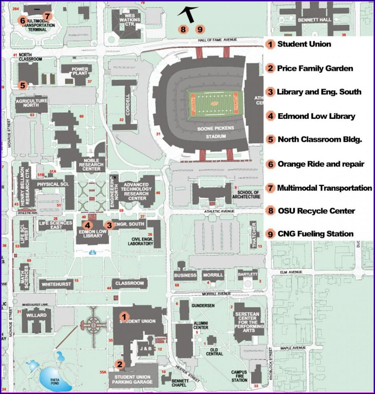 Osu Okc Campus Map