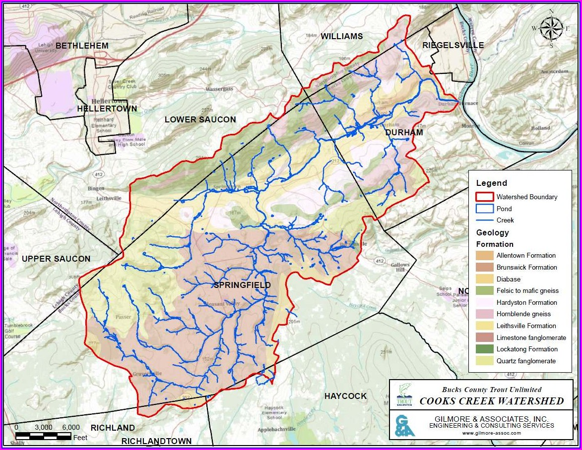 Pa Stocked Trout Streams Map