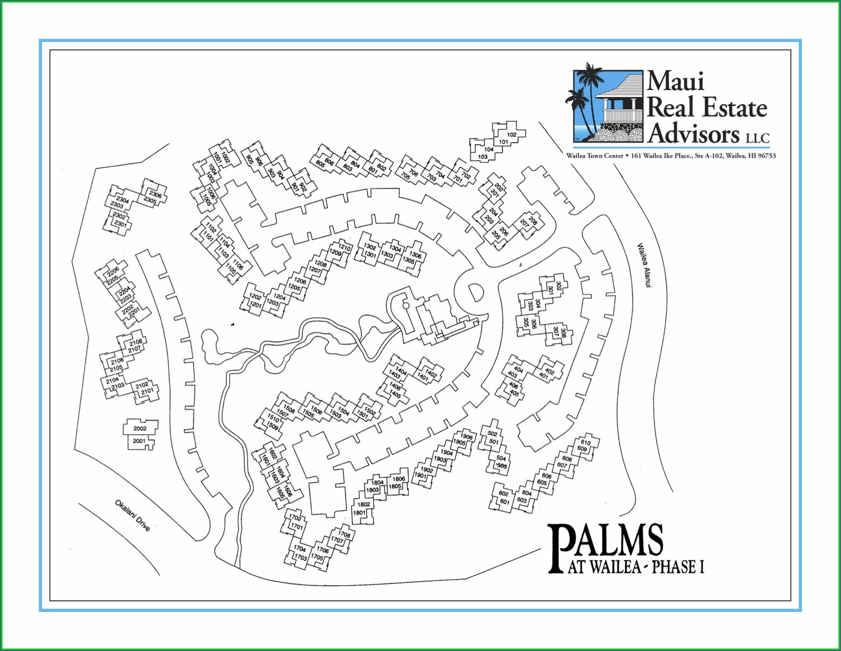 Palms At Wailea Map