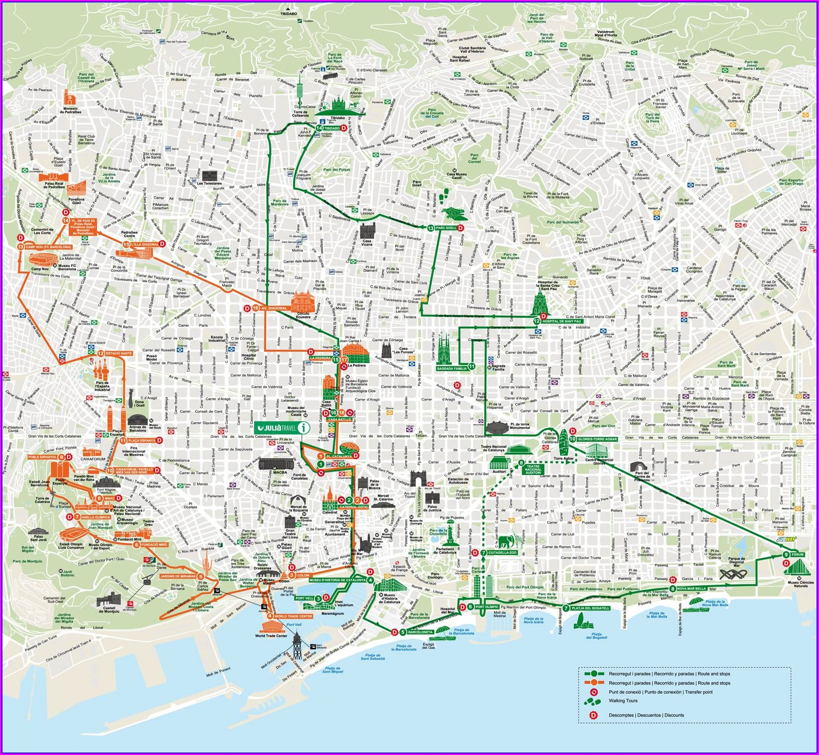 Park Guell Map Pdf