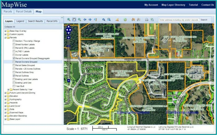 Pasco County Plat Maps