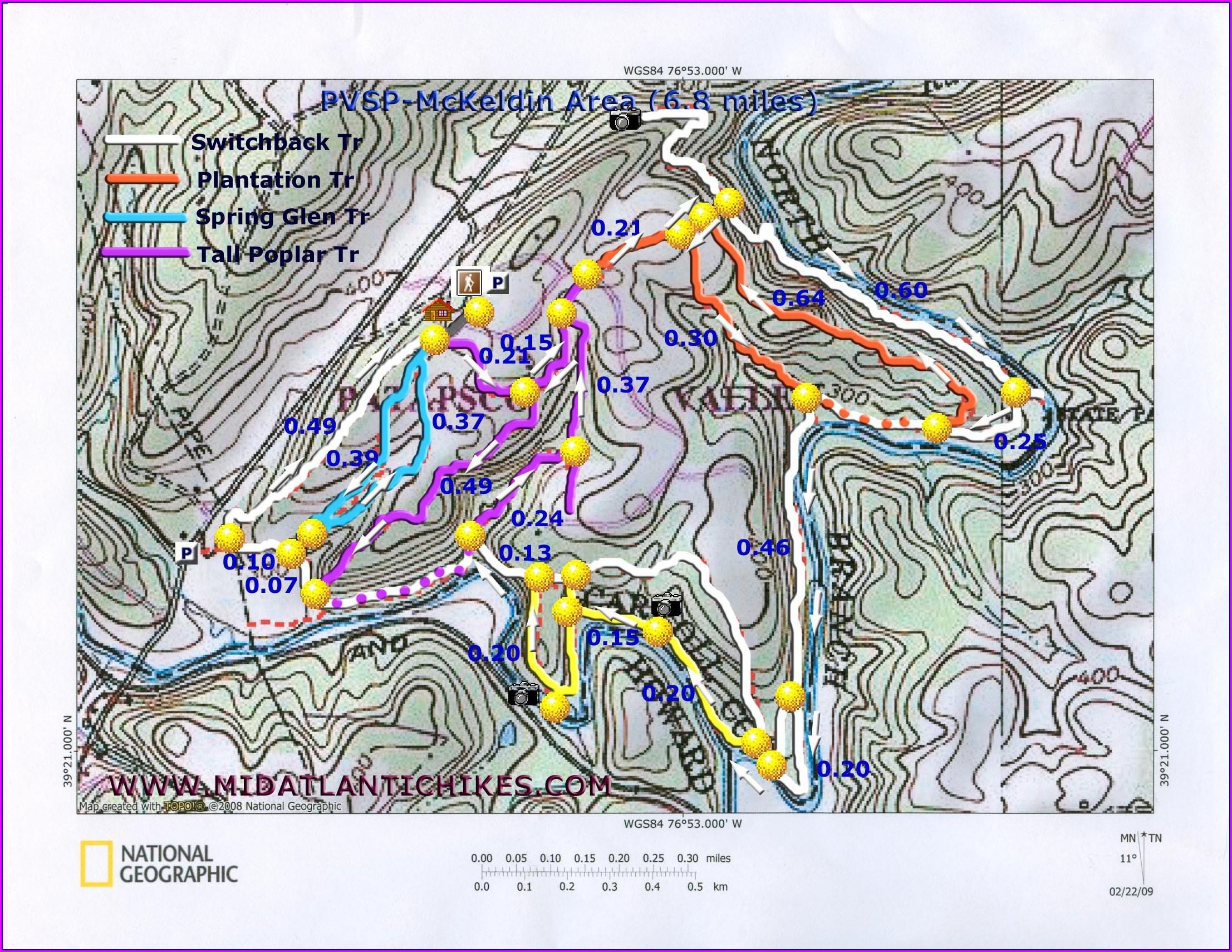 Patapsco Valley State Park Mckeldin Area Map
