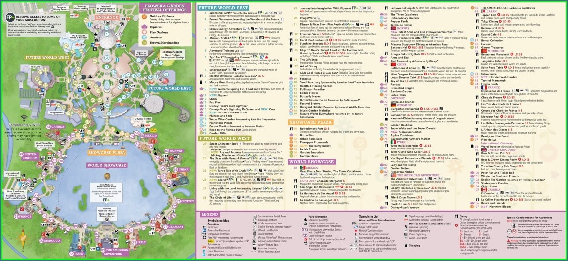 Pdf Seaworld Orlando Park Map