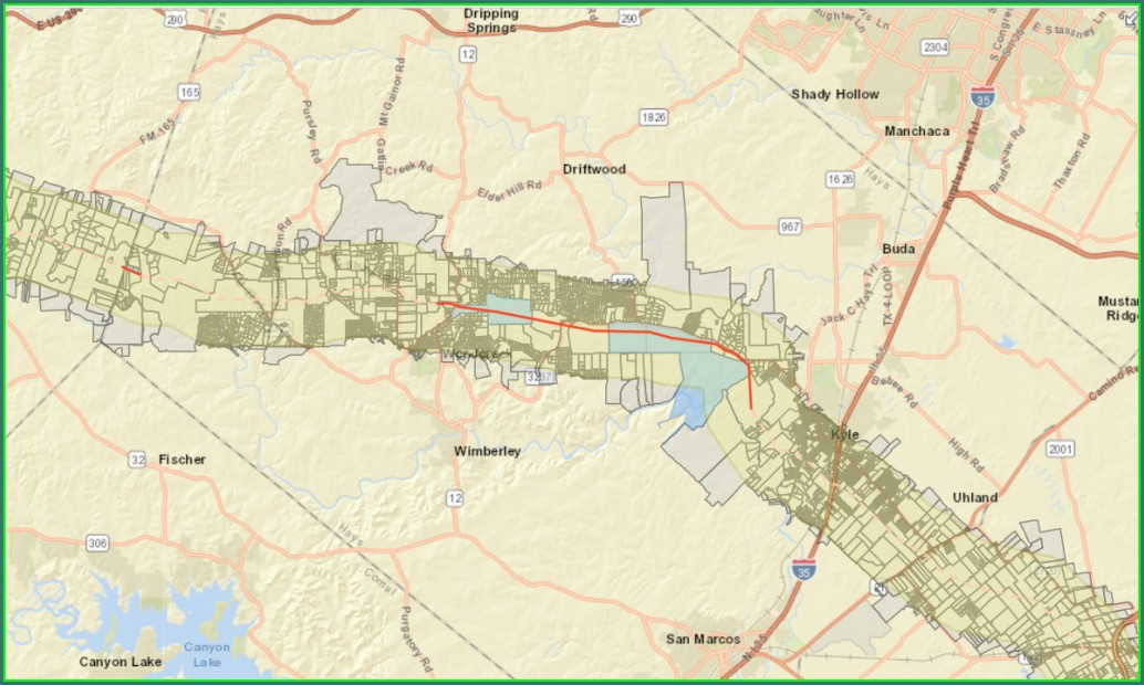 Permian Highway Pipeline Map Hays County
