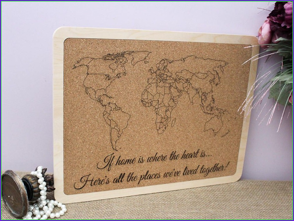 Personalized Travel Map Gift