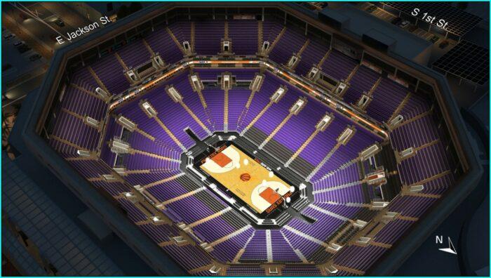 Phoenix Suns Seating Map