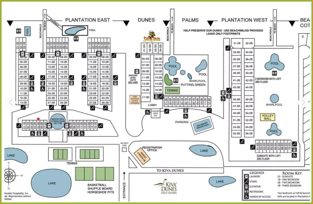 Plantation Resort Gulf Shores Plantation Map
