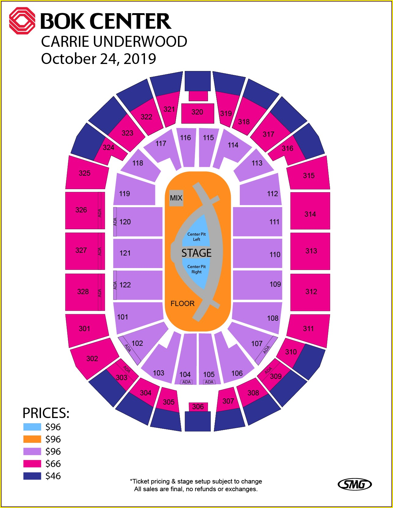 Pnc Arts Center Vip Parking Map