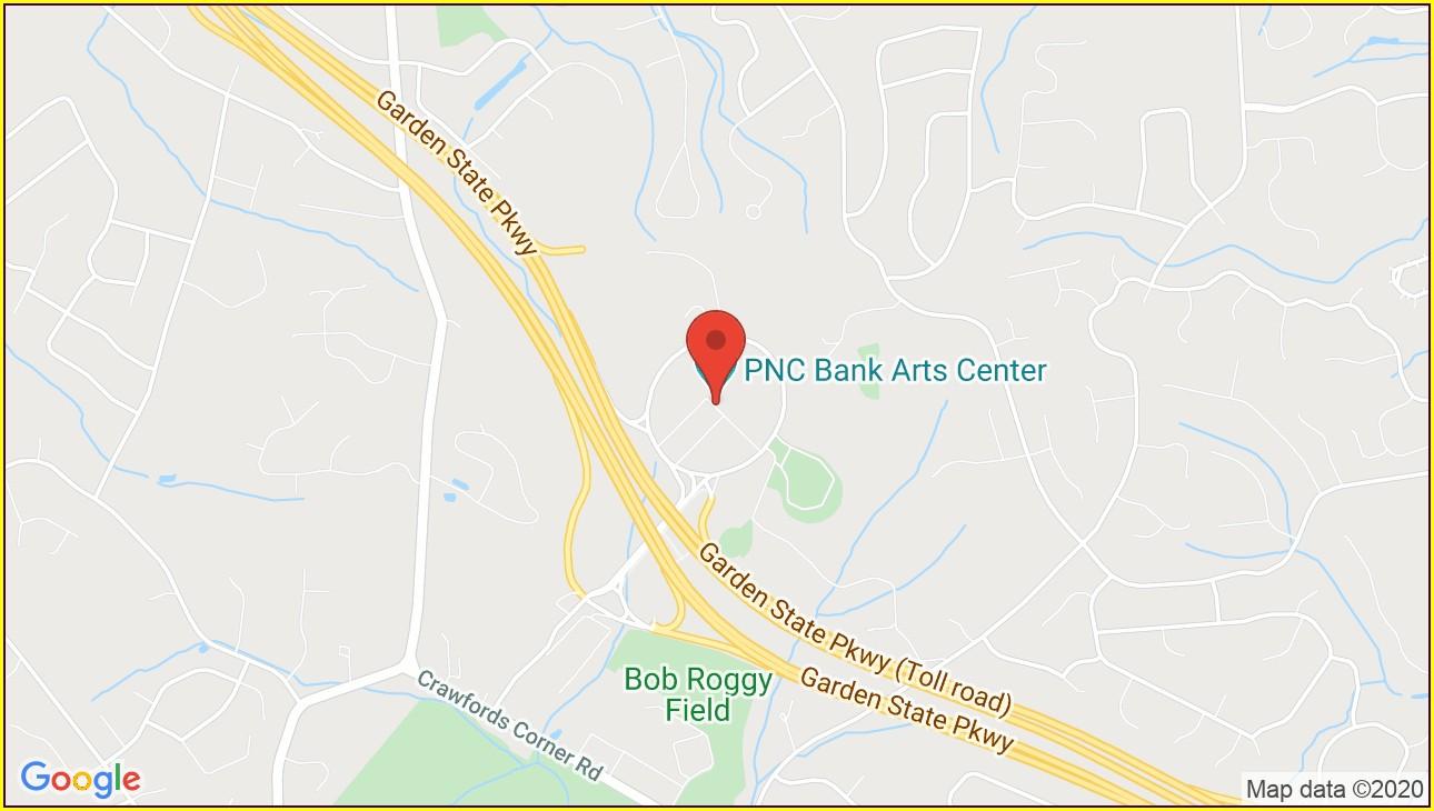 Pnc Bank Arts Center Map