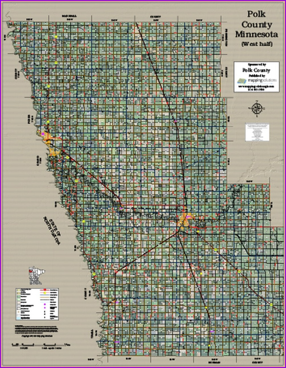 Polk County Plat Map