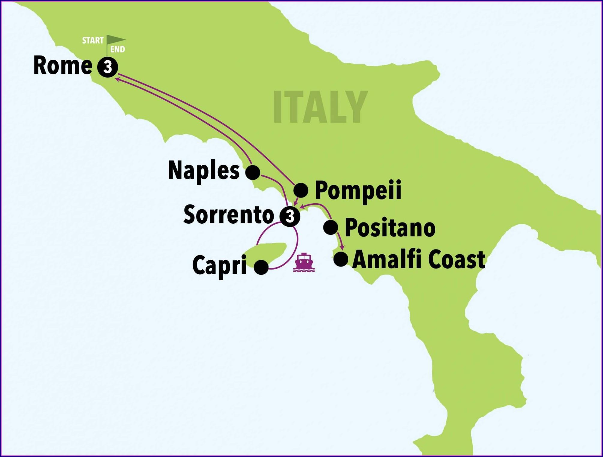 Pompeii Ruins Map Pdf