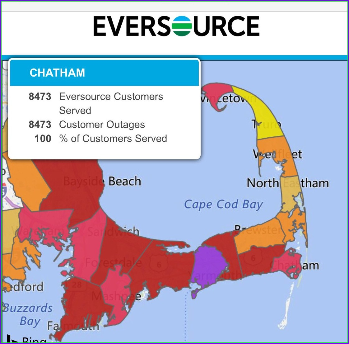 Power Outage Map Nhec