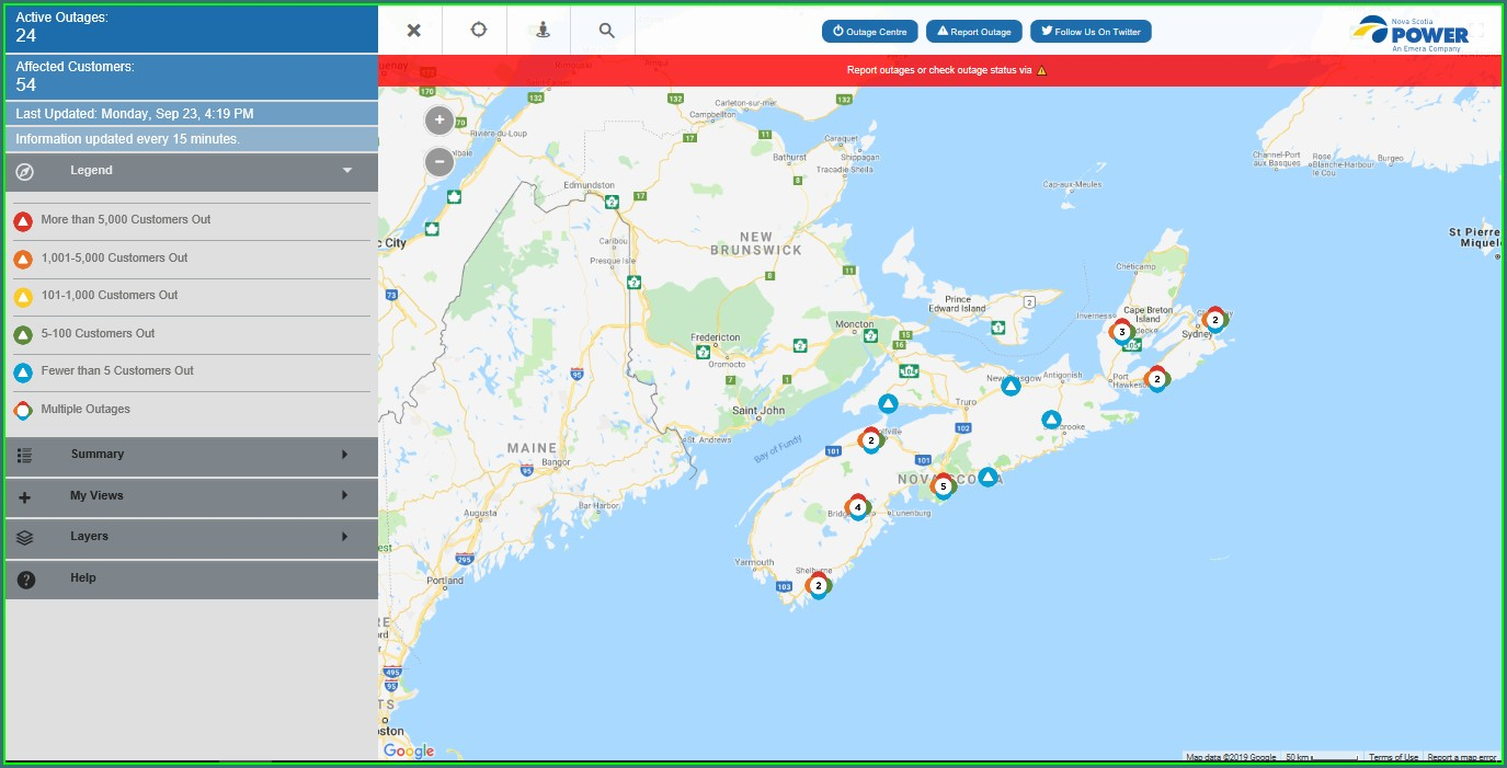 Power Outage Map Richmond Hill