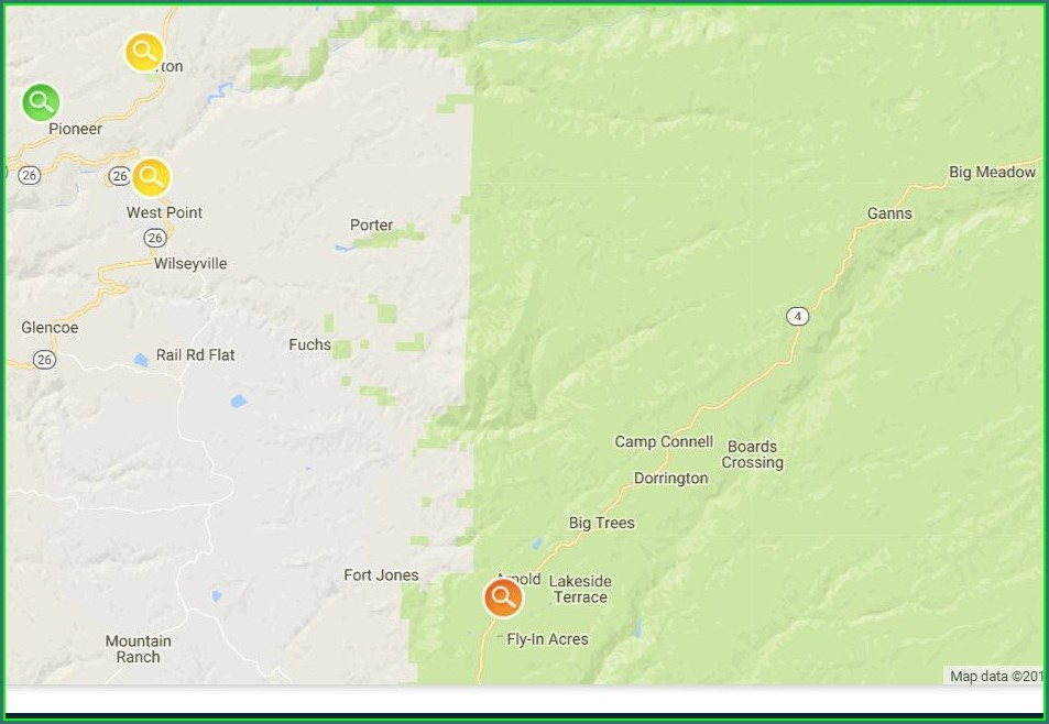 Power Outage Map Ridgecrest
