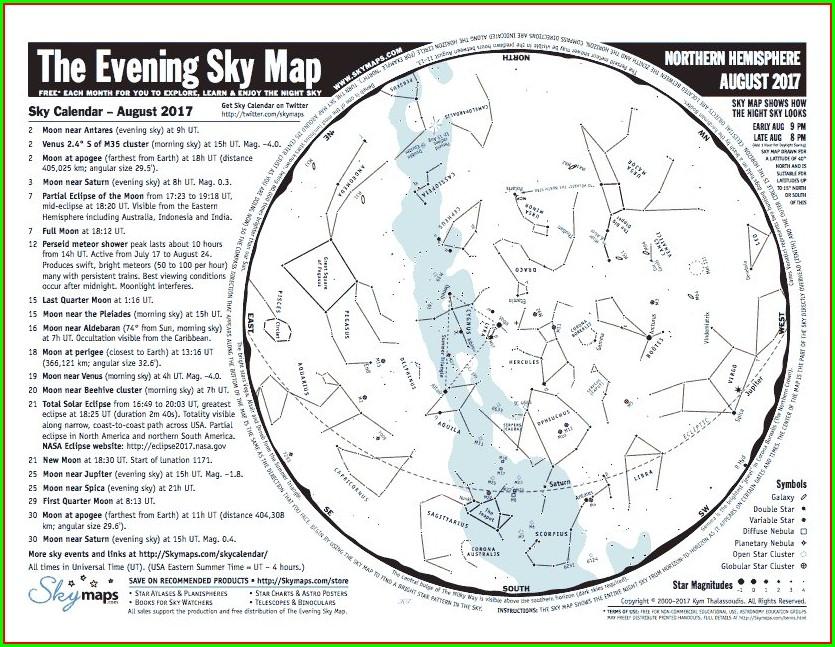Printable Constellation Map Pdf