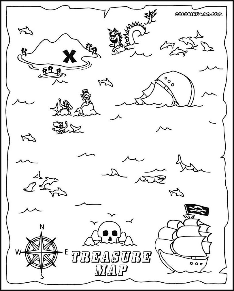 Printable Pirate Maps To Print