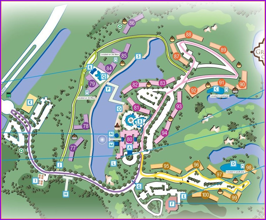 Property Layout Marriott Grande Vista Resort Map