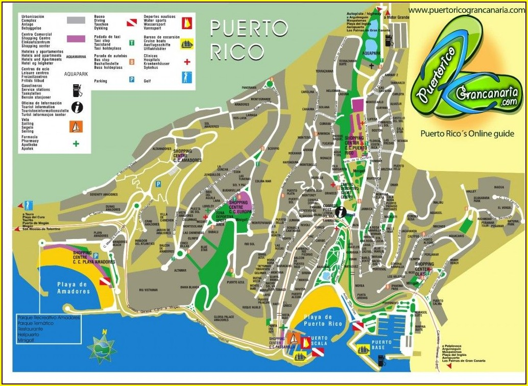 Puerto Penasco Map Of Hotels