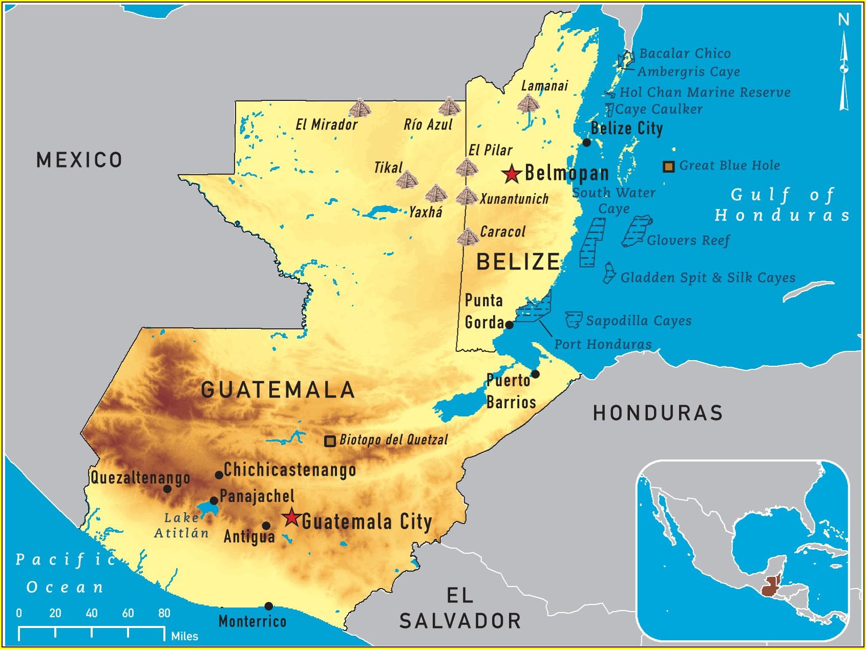 Puerto Quetzal Guatemala Mapa