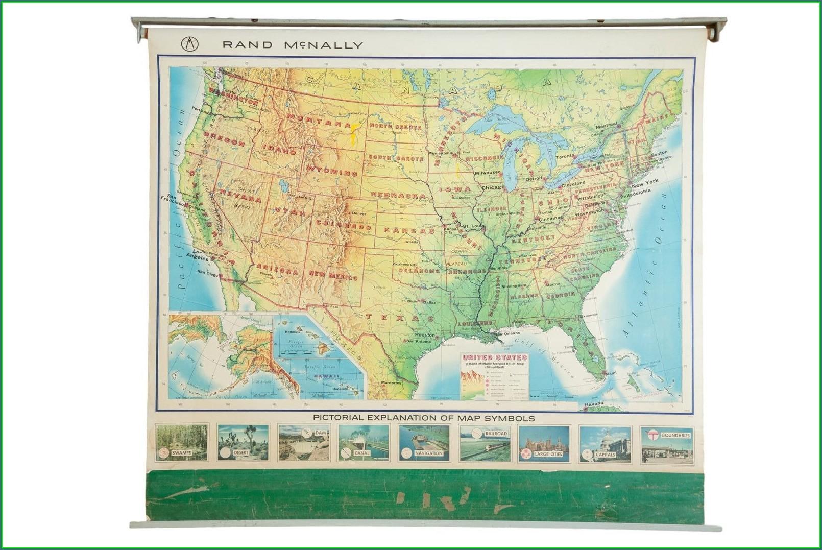 Rand Mcnally Wall Maps Classroom
