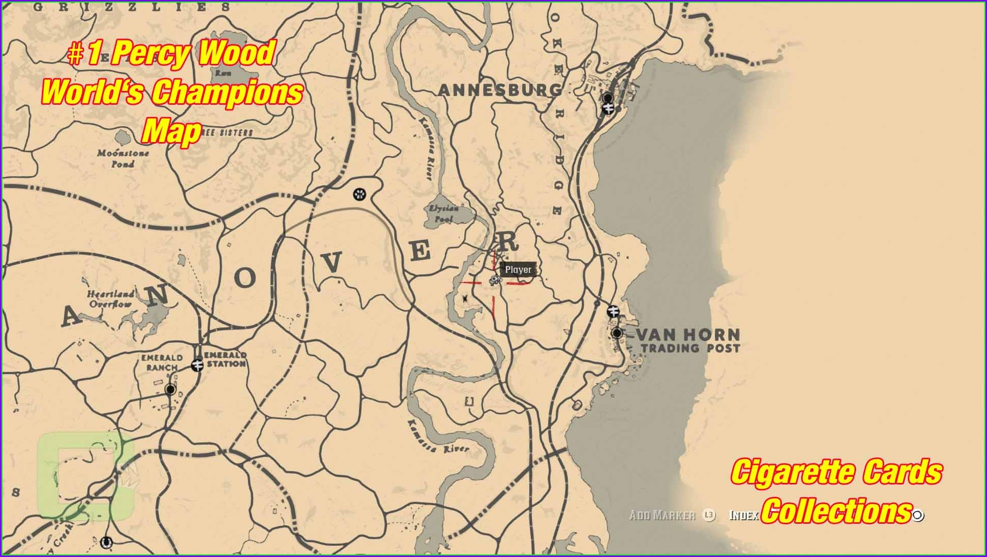 Rdr2 Online Collectibles Map