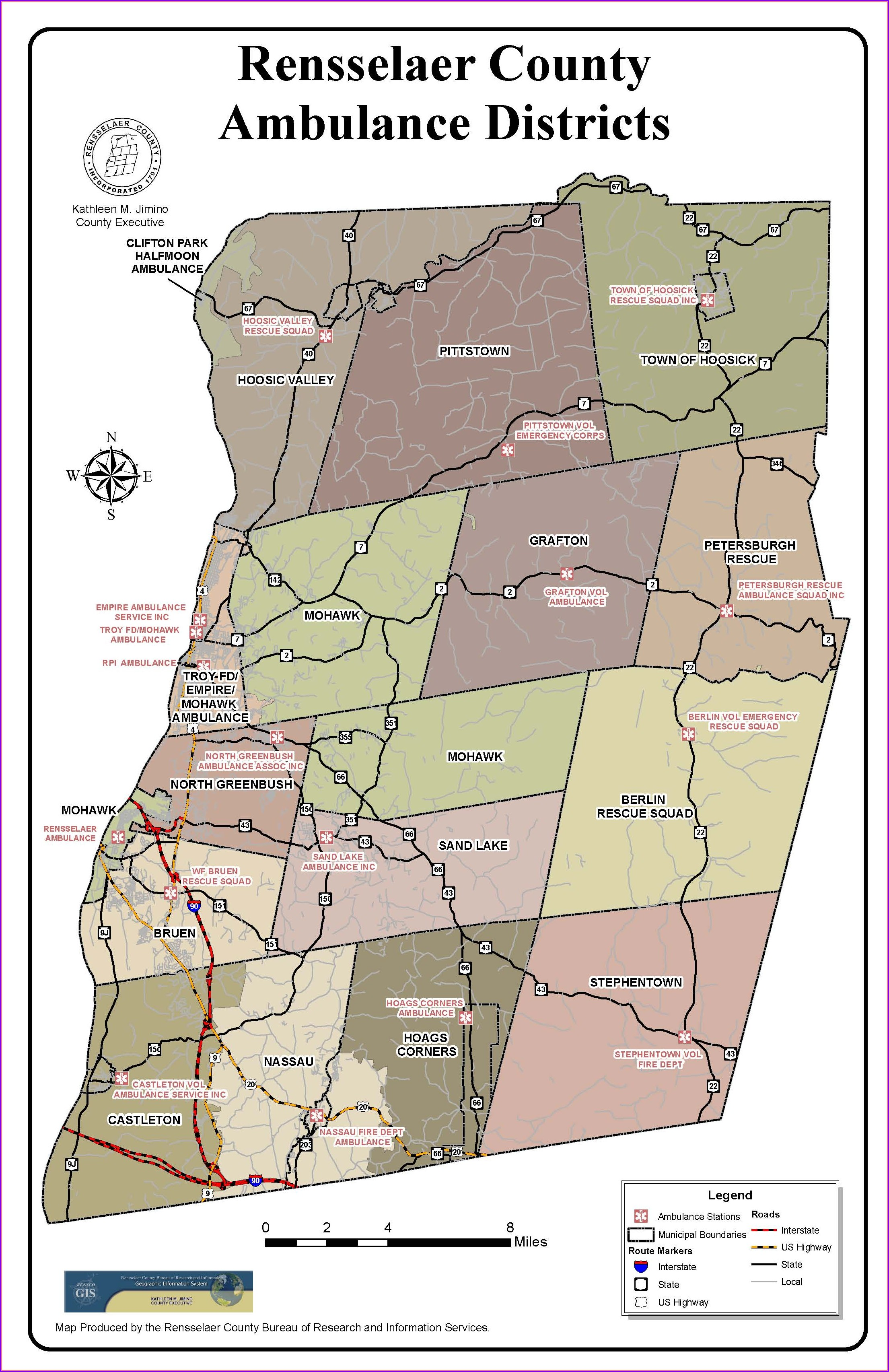 Rensselaer County Tax Maps