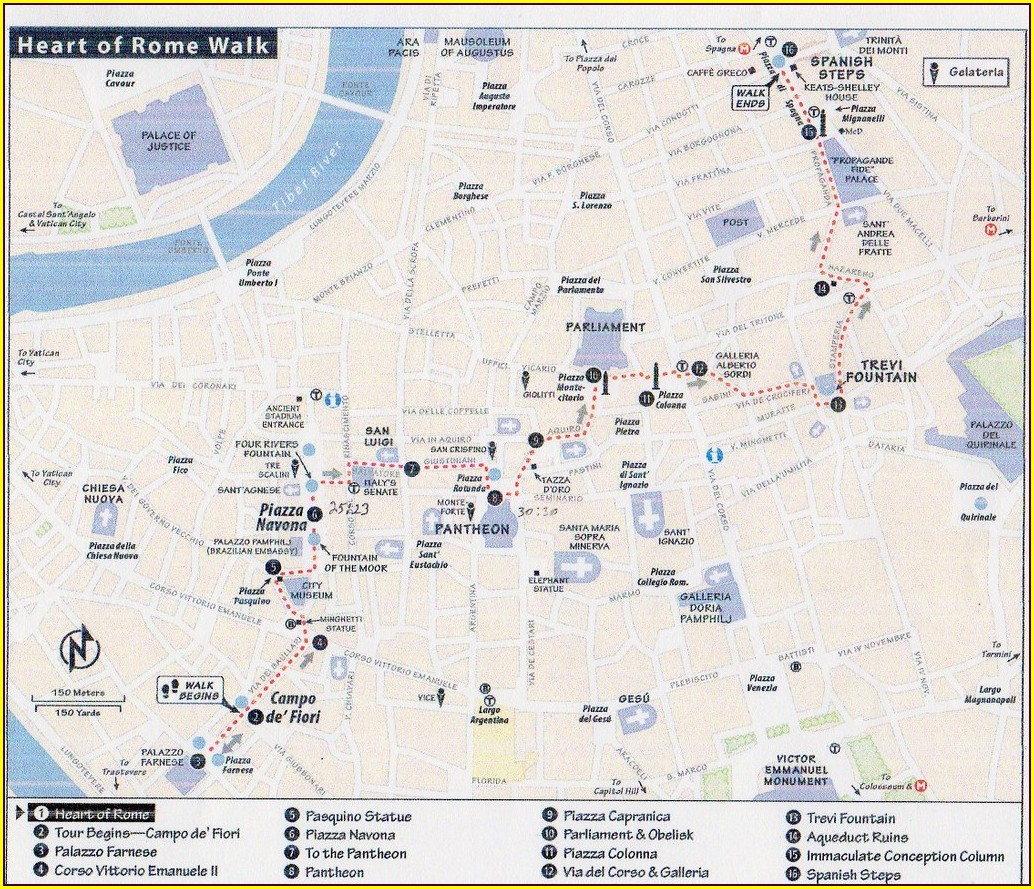 Rick Steves Rome Map