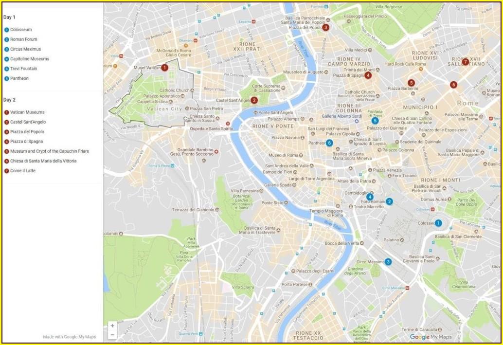 Rick Steves Rome Maps Pdf