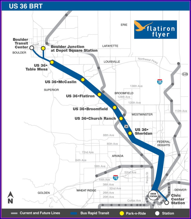 Rtd Bus Route Map Boulder