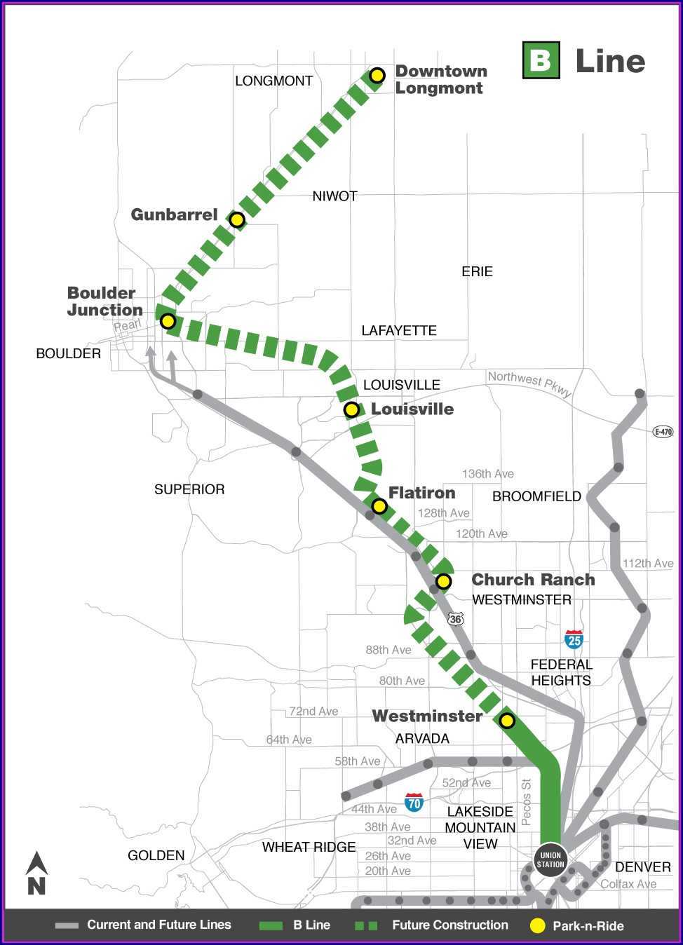 Rtd Bus Route Map