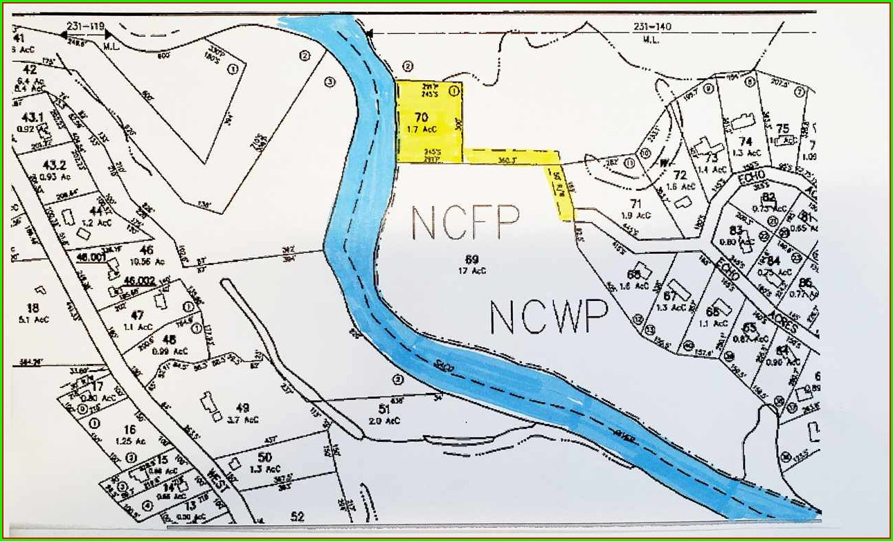 Saco River Map North Conway