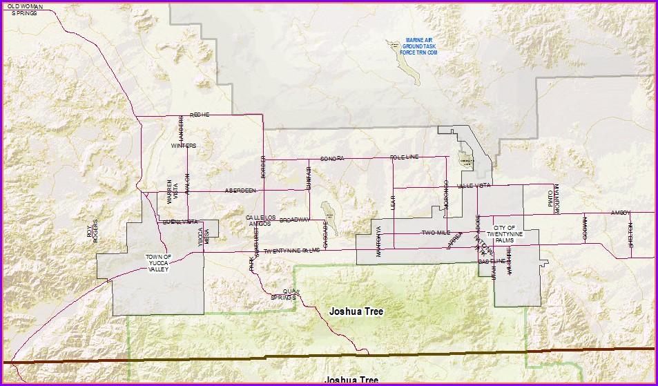 San Bernardino Assessor Map