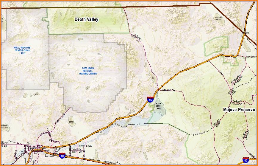 San Bernardino County Tract Maps