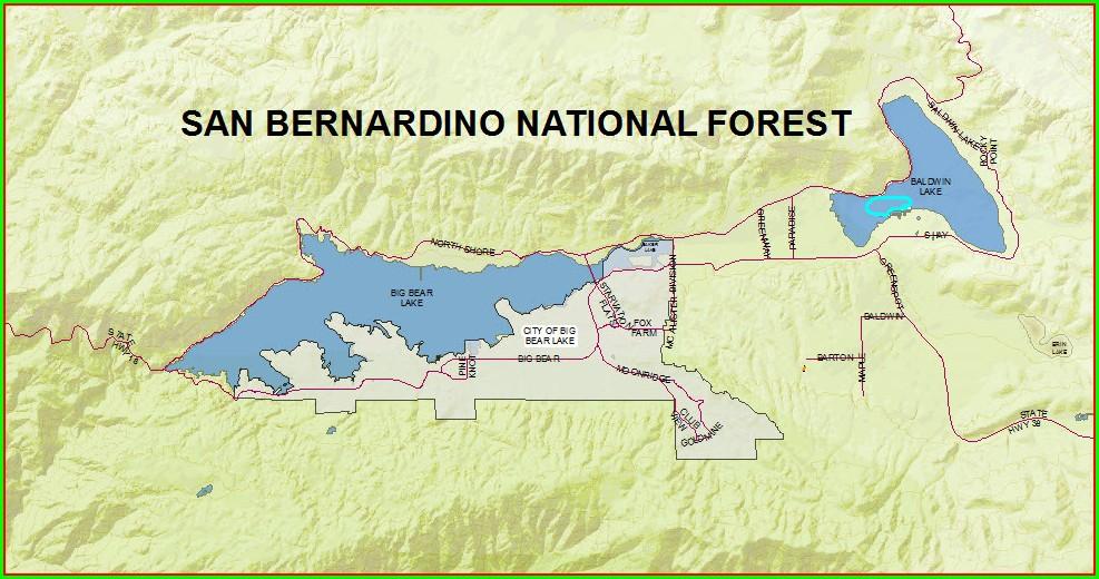 San Bernardino Parcel Map Gis