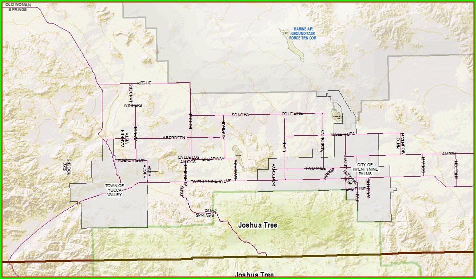 San Bernardino Parcel Map