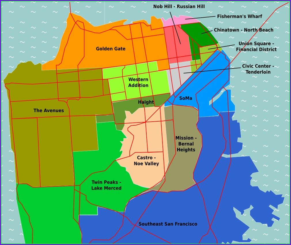 San Francisco Weather Map By Neighborhood
