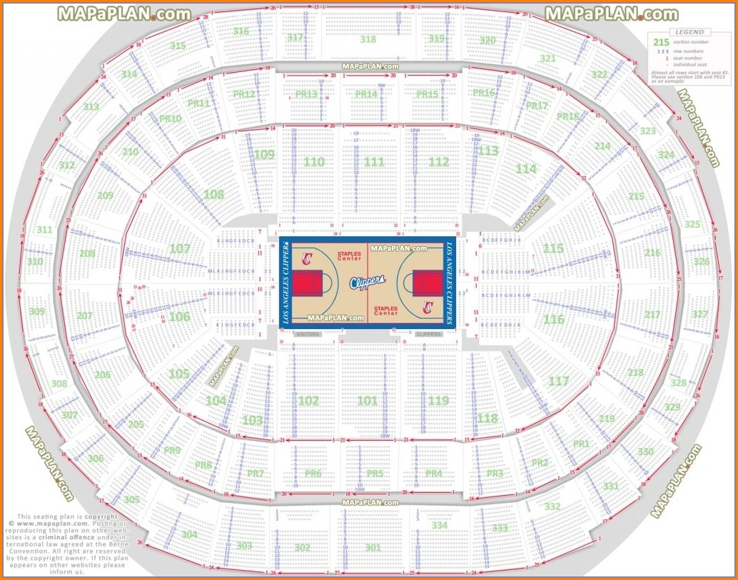 Sap Center Concert Seating Map